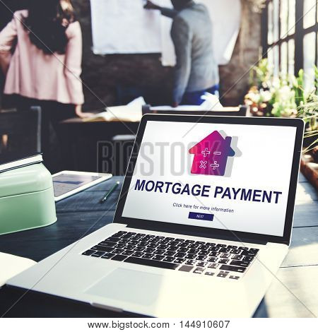 Loan Mortgage Payment Property Concept