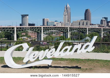 Cleveland, USA - August 29, 2016: This