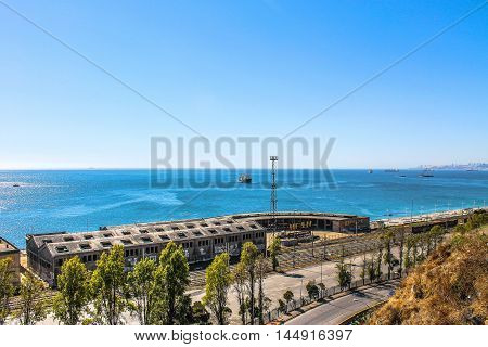 Valparaiso City. Colonial Hills Spring Beach Landscape