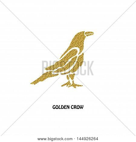 Golden Crow Symbol