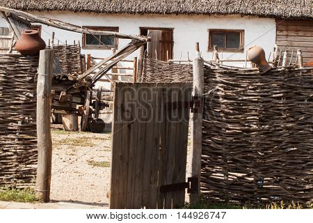 Ethnic Association - cossack village. Dwelling Cossacks - a hut