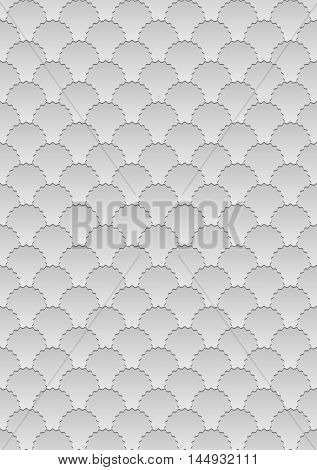 gray background with pattern seamless - vector illustration