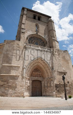 Church Of St Esteban In Burgos City