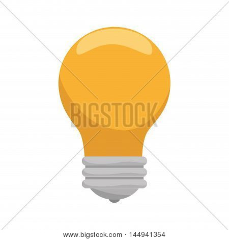bulb power light bright energy electric lightbulb vector illustration