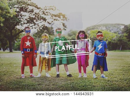 Playful Activity Fun Happiness Leisure Playing Concept