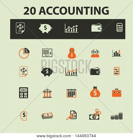 accounting icons