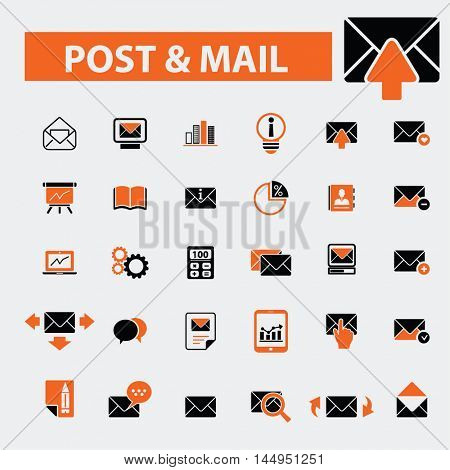 post mail icons