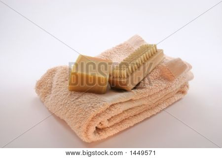 Soap, Brush & Towel