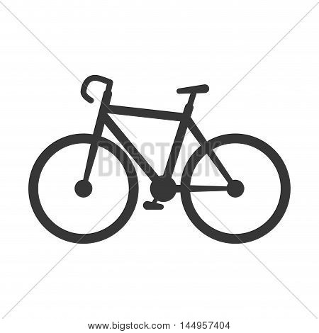 bicycle sport bike transport vehicle cycling fitness lifestyle vector illustration