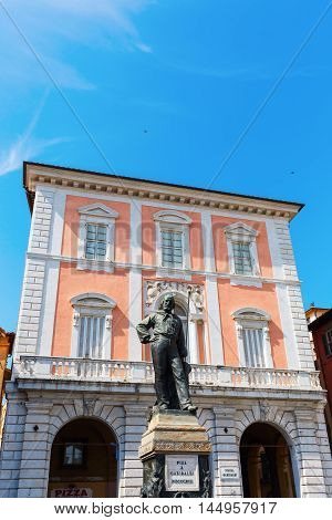 Statue Of Cosimo I In Knights Square, Pisa, Italy