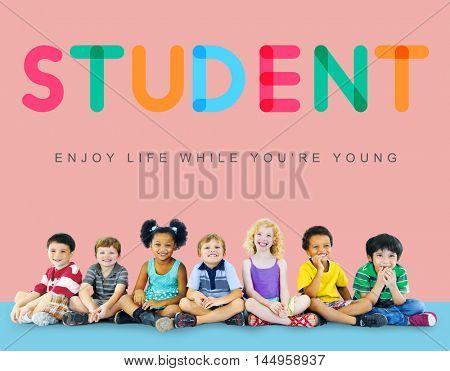 Kids Innocent Children Child Young Concept