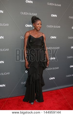 LOS ANGELES - AUG 29:  Rutina Wesley at the Premiere Of OWN's