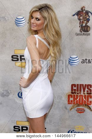 Marisa Miller at the 2010 Guys Choice Awards held at the Sony Pictures Studios in Culver City, USA on June 5, 2010.