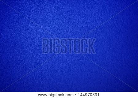 Blue leather texture , with vignette border