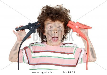 Boy Victim With Electricity