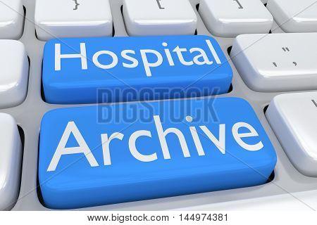 Hospital Archive Concept