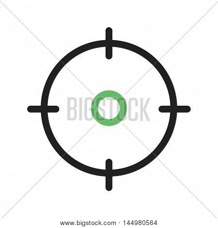 Mission, vision, goal icon vector image. Can also be used for startup. Suitable for mobile apps, web apps and print media.