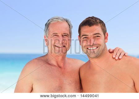 Man with his father-in-law