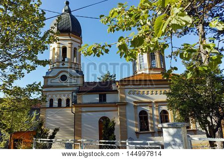 The church Virgin Mary in  Dimitrovgrad, Pirot Region, Republic of Serbia