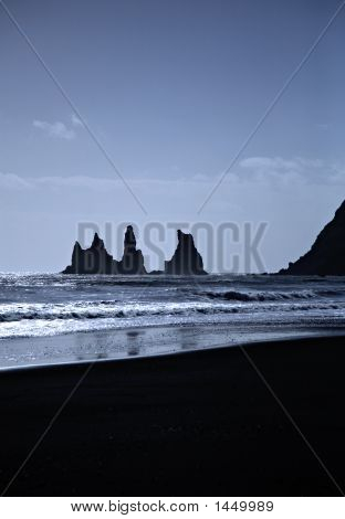 Sea Stacks Iceland