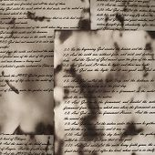foto of annal  - Ancient and vintage handwritten Bible pages - JPG