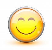 foto of smiley face  - Smiley - JPG