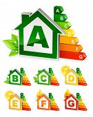 home energy icons