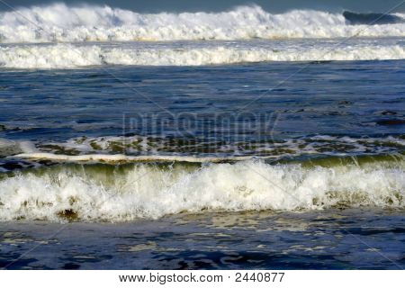 Abstract Wonderful Angry Sea