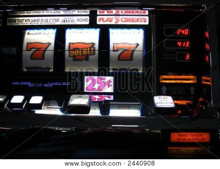 Bright  Colored Slots Machine Jackpot