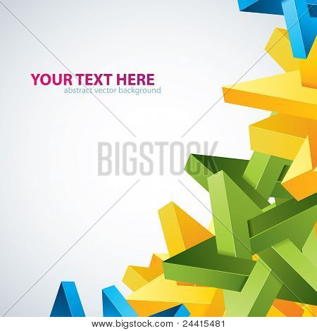 Graffiti. Abstract vector background