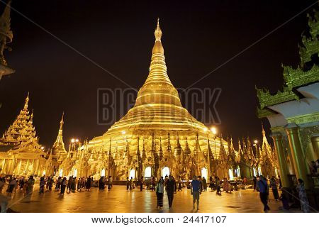 Shwedagon Pagoda Myanmar