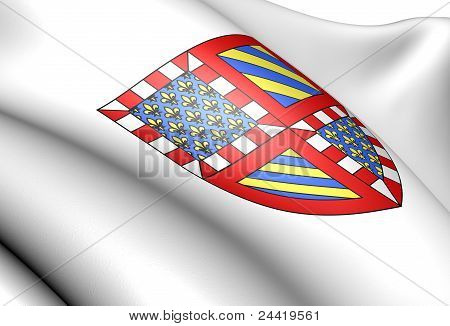 Bourgogne Coat Of Arms, France.