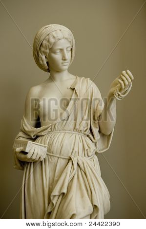 Antique Sculpture In Russian Museum