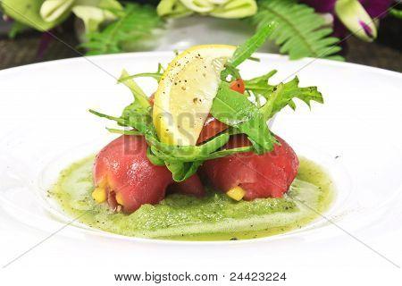 Tuna Mango Salsa