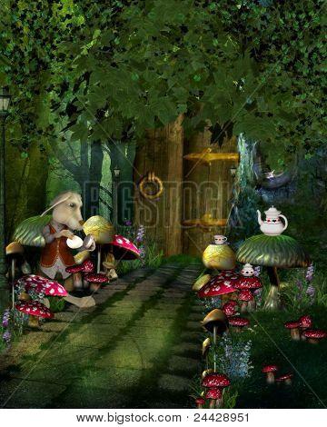 The Mushroom Path