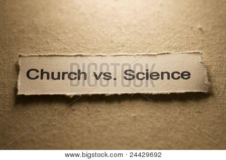 Church vs science