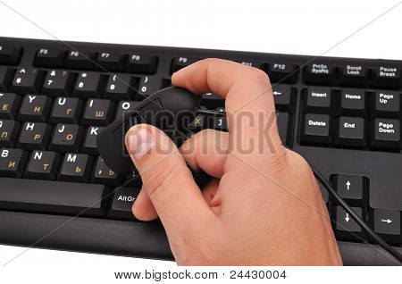 Finger Mouse And Keyboard