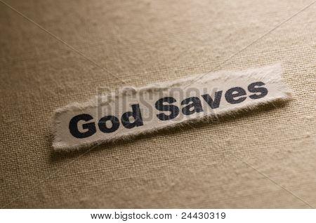 Deus salva