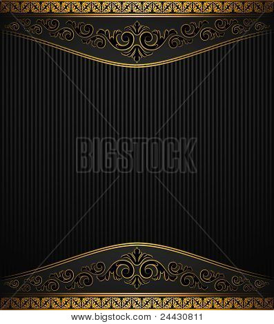 Vintage background with retro ornament. Beautiful illustration