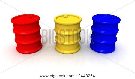 Colored Barrels