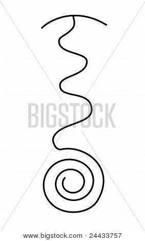 Reiki Symbol Fire Serpent