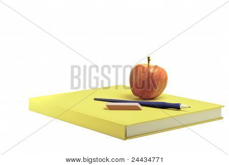 Yellow School Book
