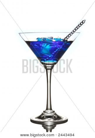 Blue Curacao Cocktail Drink