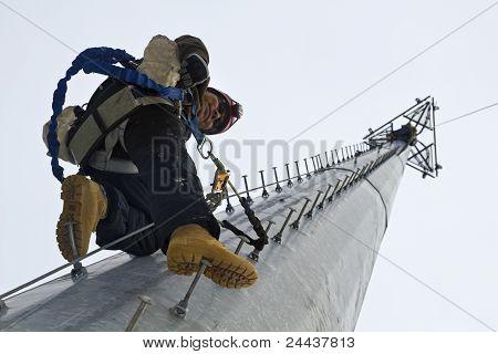 Tower climber