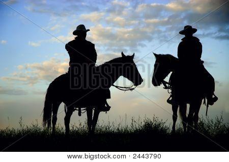 Cowboy Silhouettes