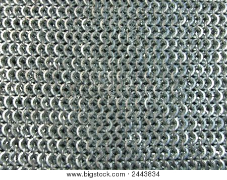 Steel Chain Mail Texture