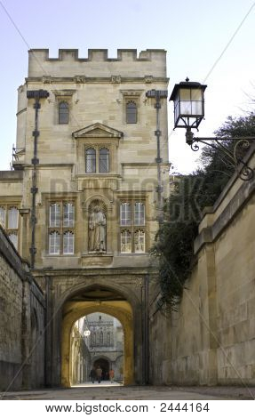 University Of Oxford, Christ Church College Tower
