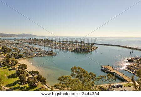Dana Point Harbor And Jetty