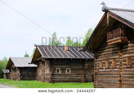 The Old Wooden House