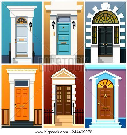 Entrance Doors A Set Of